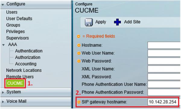 Cisco Unity Express (CUE)