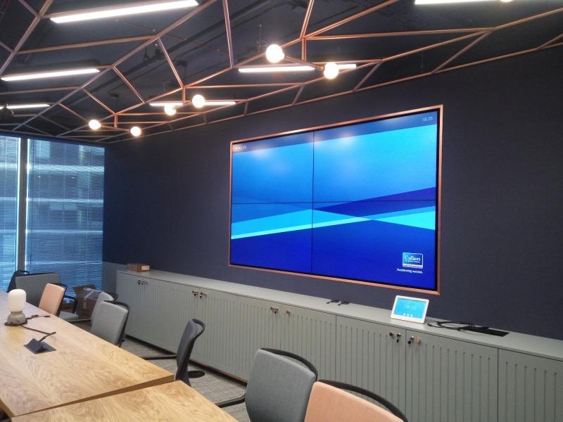 Wdrożenie systemu audio-wizualnego dla Colliers International