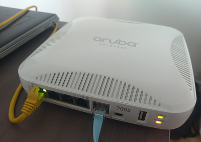 Konfiguracja kontrolera Aruba