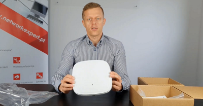 Unboxing nowego AP Cisco C9120AXI (Wifi 6, 802.11ax)