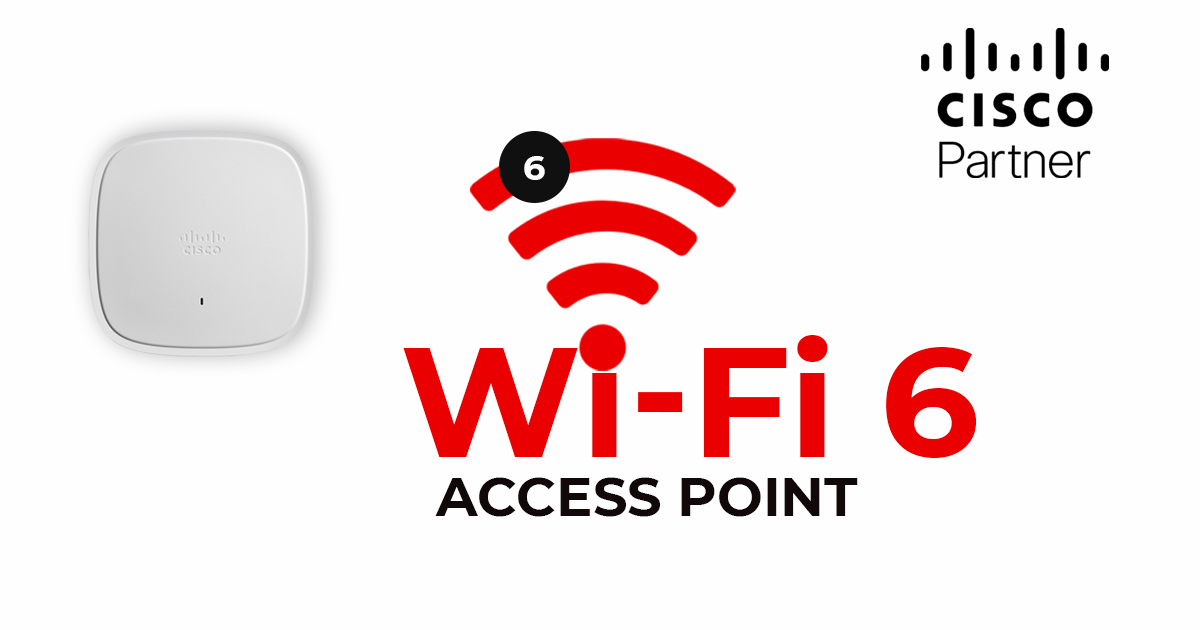 Access Point z WiFi 6 - Cisco