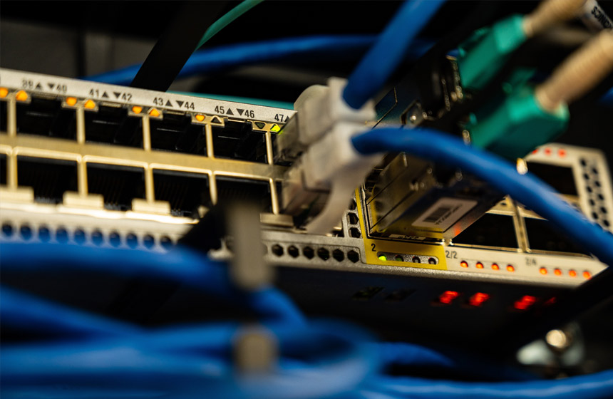 Budowa sieci LAN
