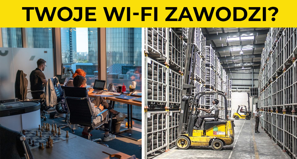 Czy Twoje wi-fi zawodzi? Audyt stanu WLAN