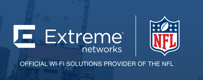 Extreme Networks - partner NFL