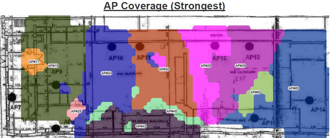 AP Coverage - Strongest