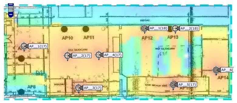 Planowanie dla częstotliwości 2,4GHz