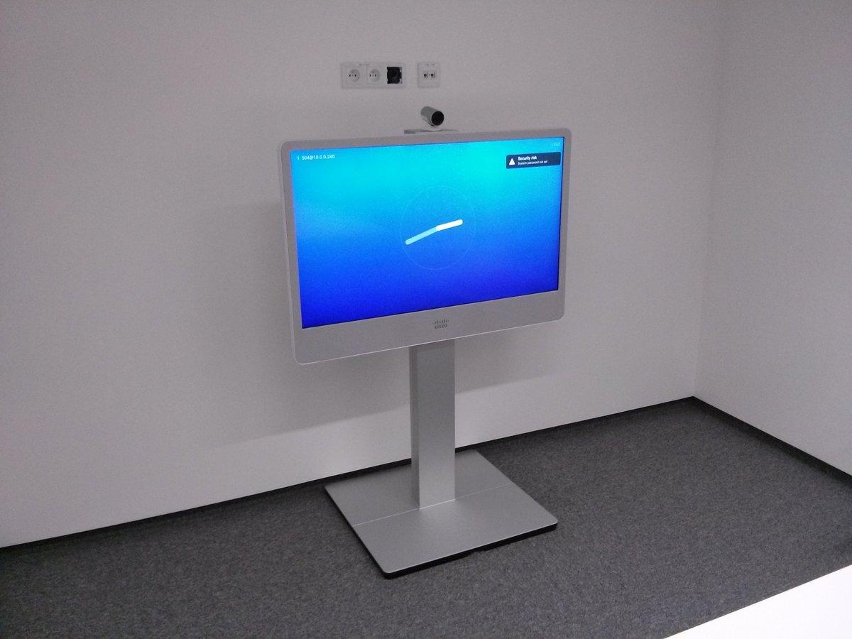 Wideokonferencja monitor Cisco