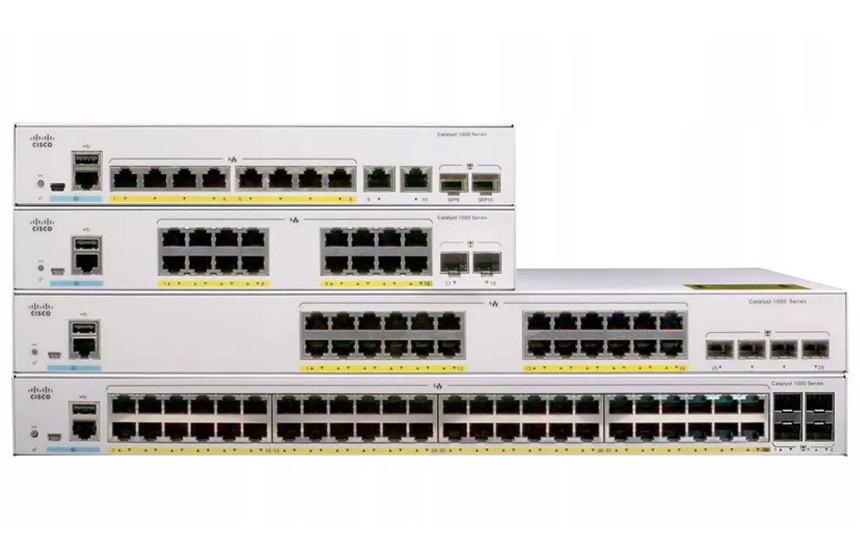 Budowa sieci - klasyczny switching