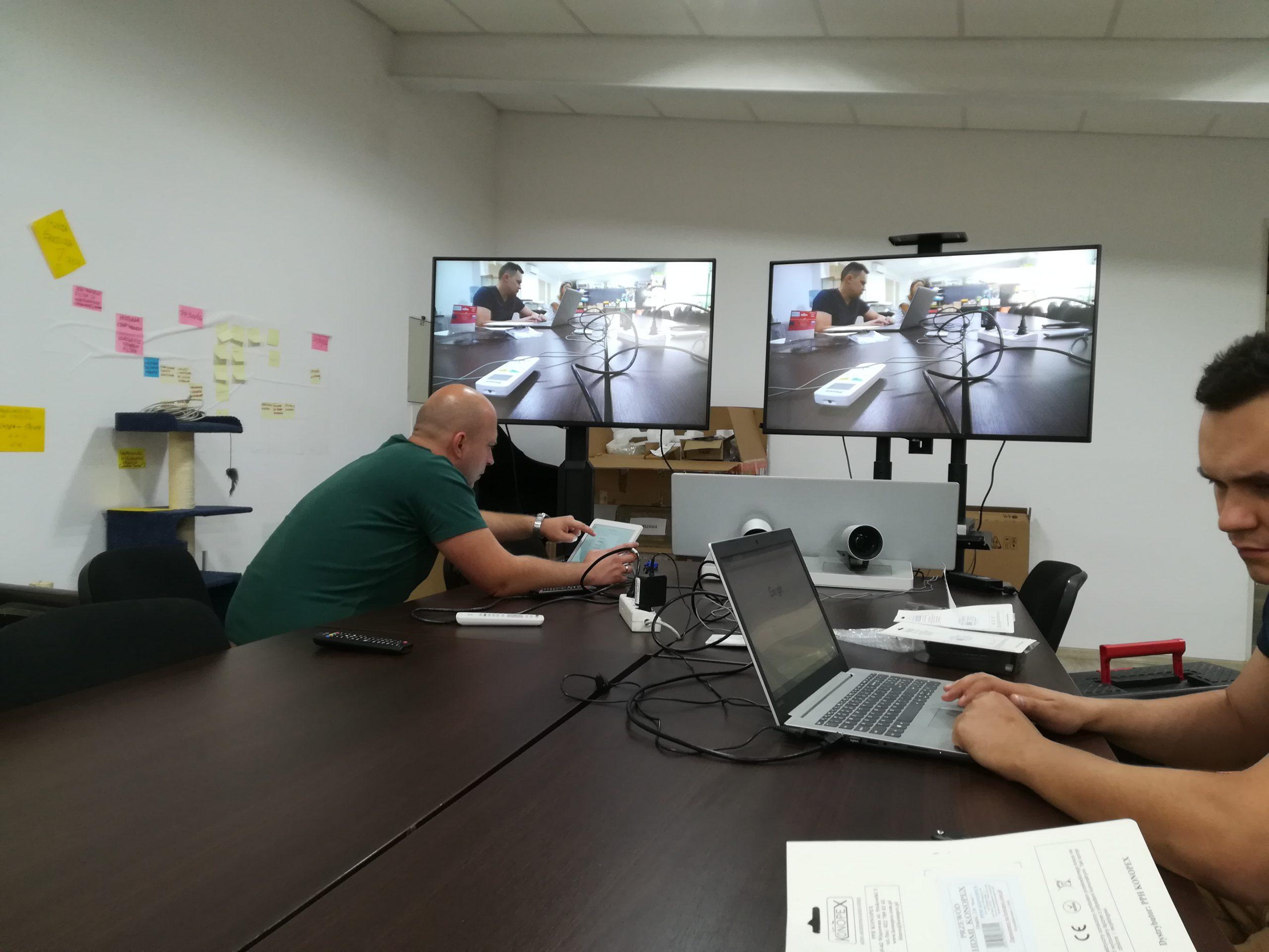 Konfiguracja oprogramowania i sprzętu do wideokonferencji