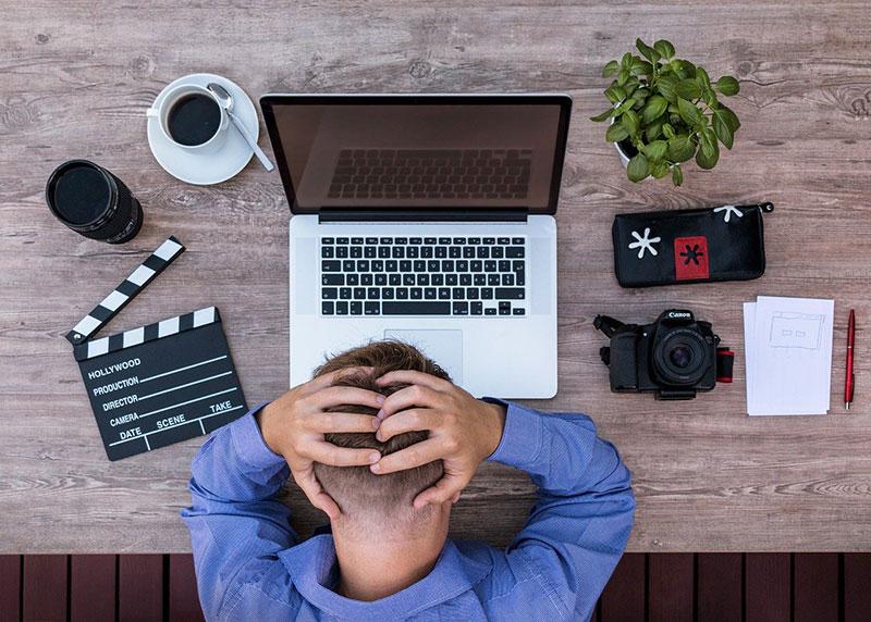 Problemy z jakością spotkań online