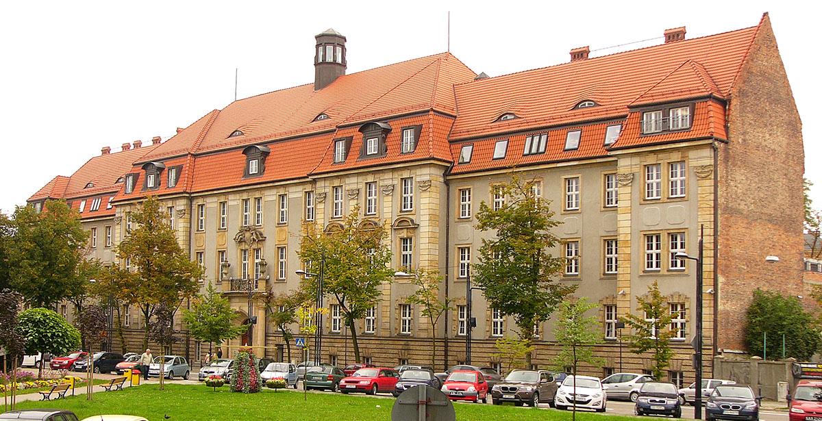 Budynek Sądu Rejonowego w Gliwicach