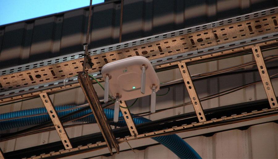 Sieć WLAN w obiekcie przemysłowym