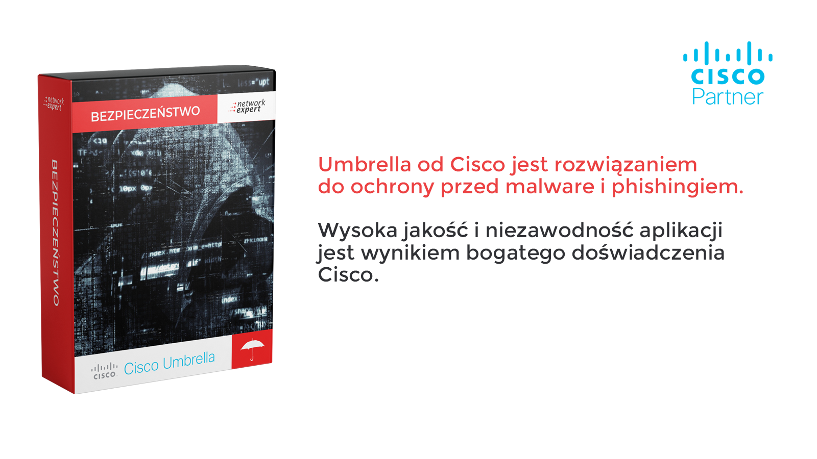Cisco Umbrella do ochrony sieci