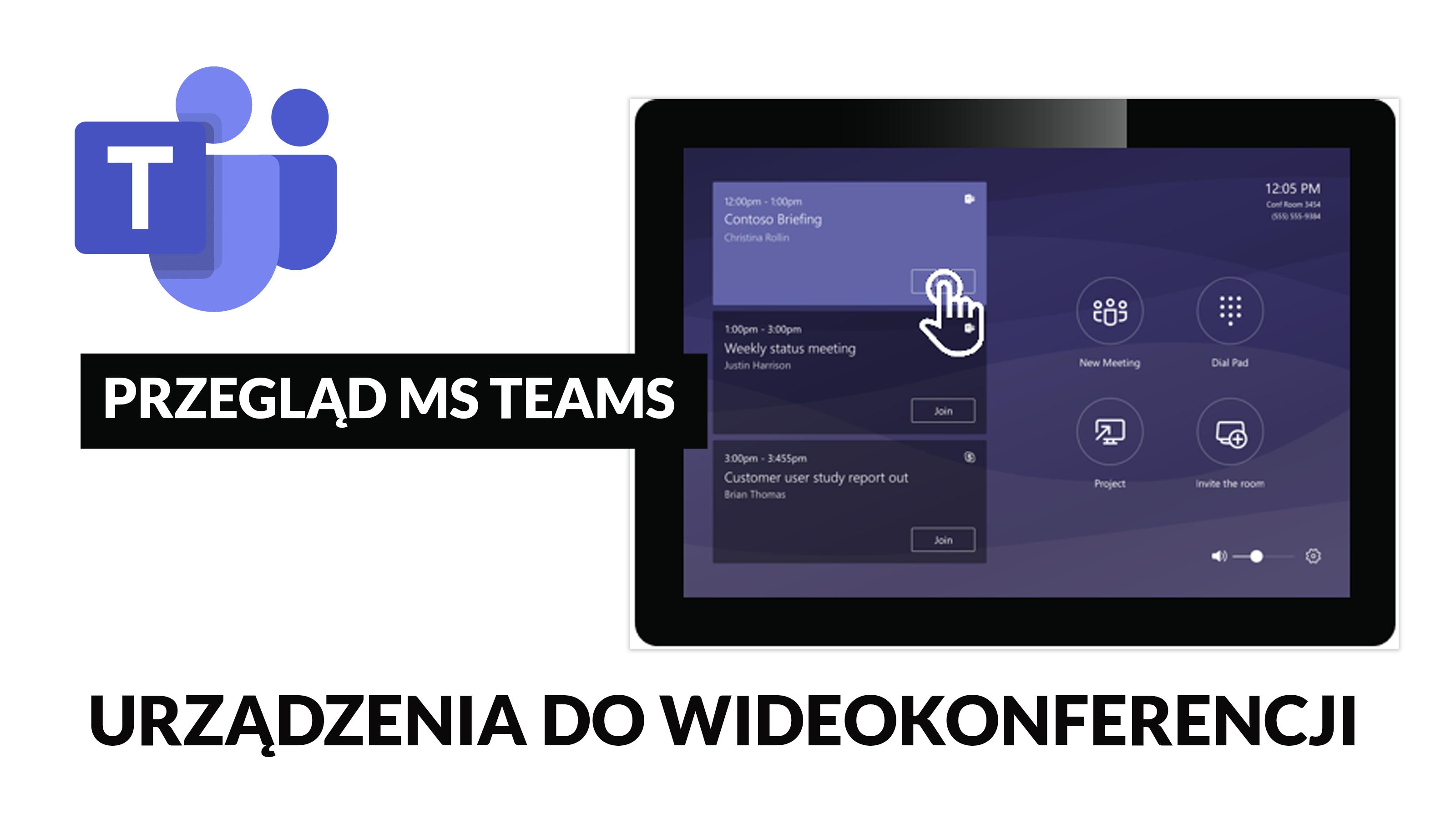 Urządzenia do wideokonferencji MS Teams