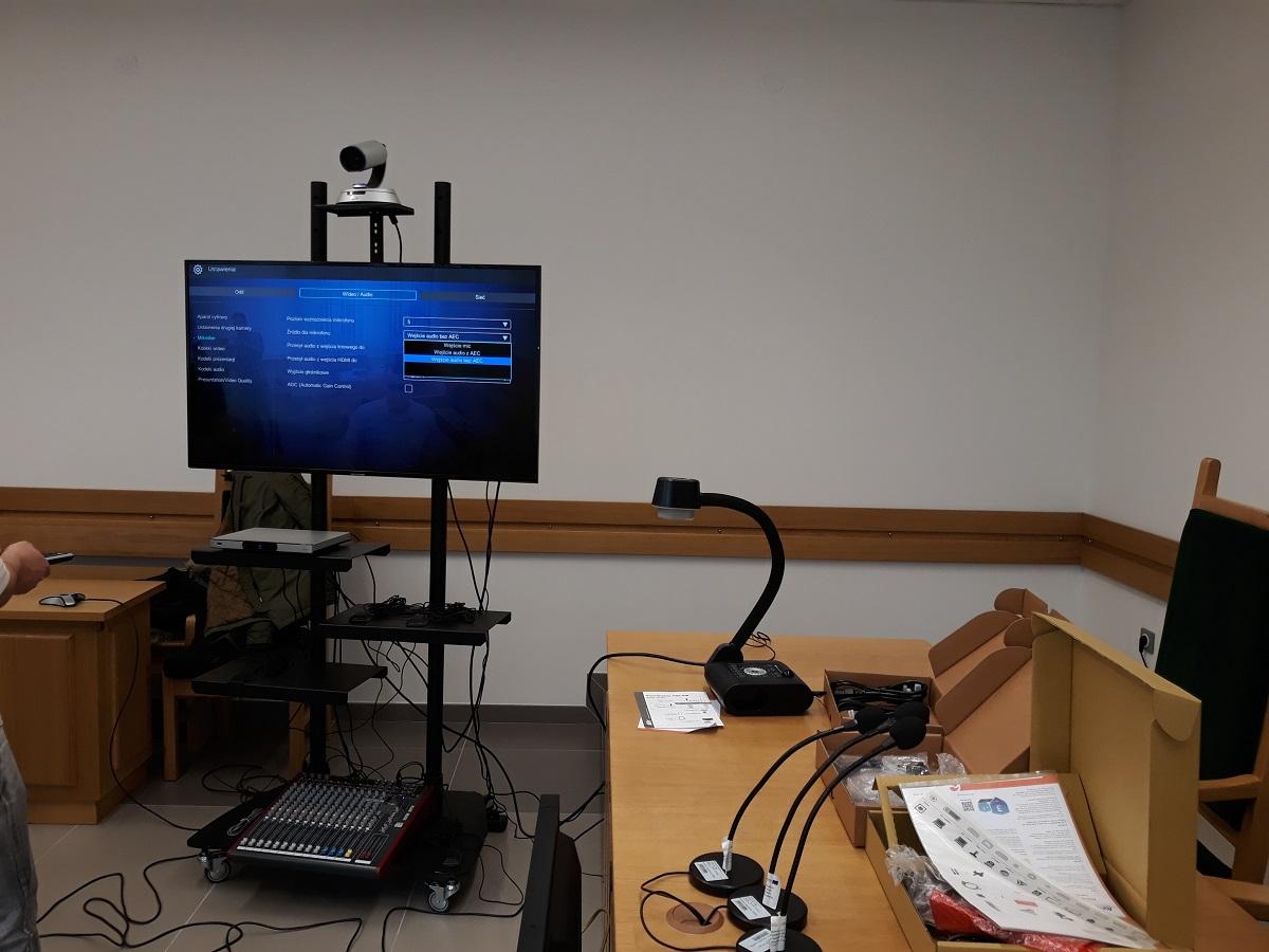 Zestaw do wideokonferencji - wdrożenie