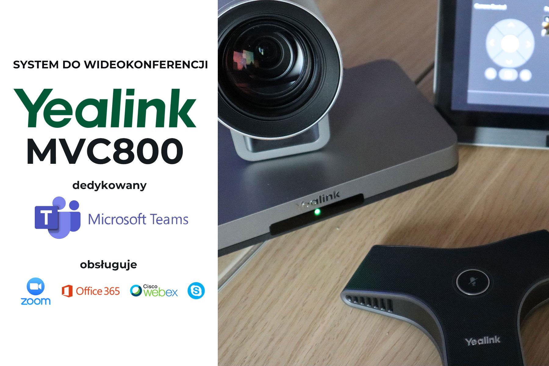 Zestaw do wideokonferencji Yealink MVC800